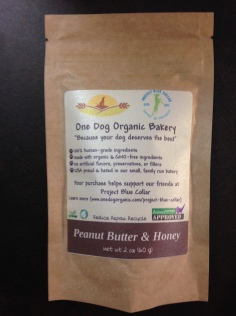 One Dog Organic bakery Review, organic dog treats, GMO Free