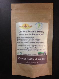 One Dog Organic bakery Review, organic dog treats, GMO Free