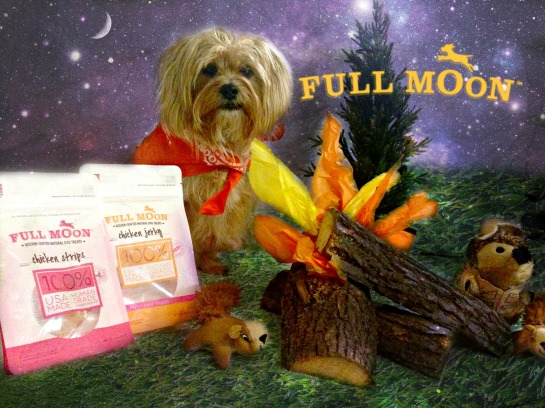 Full Moon Treats, Full Moon Dog Treats, Full Moon, Natural Chicken Jerky for Dogs,