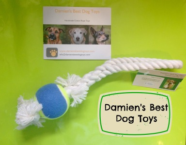 Damien's Best Dog Toys, Happy Pup Treats