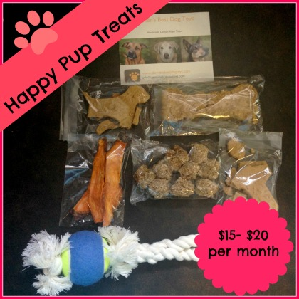 Happy Pup Treats, Happy Pup Treats Box, Dog Subscription Boxes, Canadian Subscription Boxes