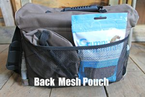 Back Mesh Pouch
