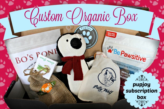 Pupjoy, Subscription Box, Subscription box for dogs, Dog Gifts, dog lovers, give a dog a bone, dog stuff, organic dog, natural pet,